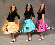 Poodle skirts photo